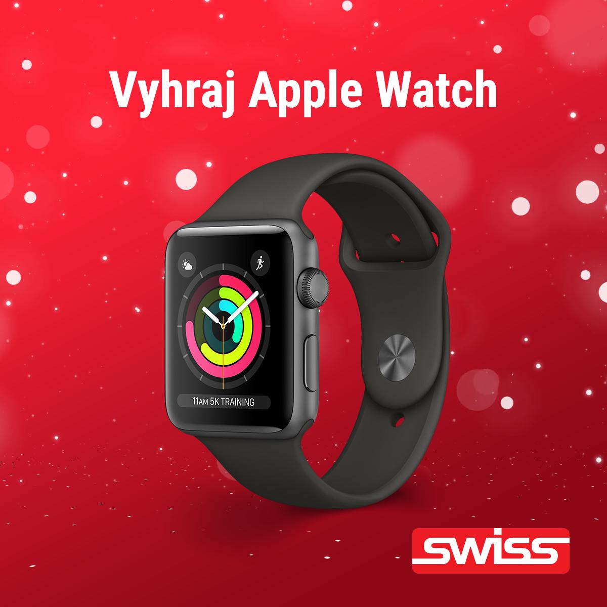 Vianočná Facebook Súťaž o Apple Watch Series 3